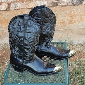 Laredo men's leather western boot
